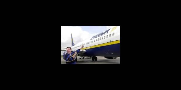 Ryanair fixée à Gosselies pour 15 ans - La Libre