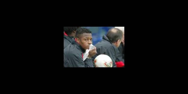 Emile Mpenza absent du Mondial - La Libre