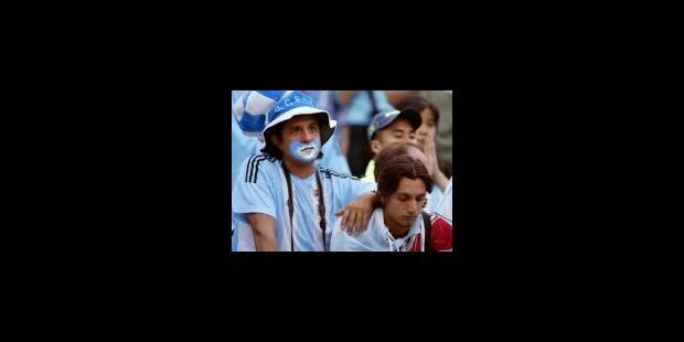 Drame national en Argentine après l'élimination - La Libre