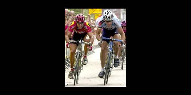 Johan Museeuw au sprint - La Libre