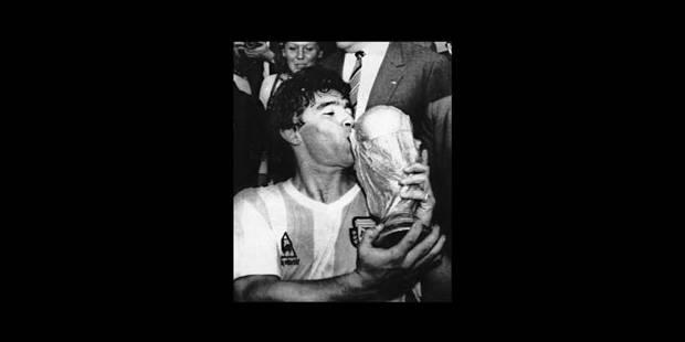 Diego Maradona, artiste baroque - La Libre
