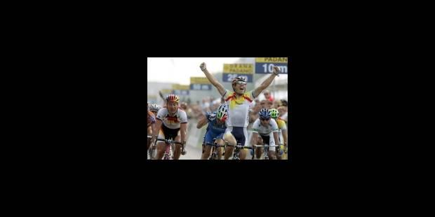 Oscar Freire est le champion du Mondial - La Libre