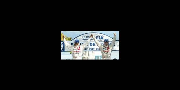 Loeb, pilote en état d'ivresse - La Libre