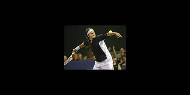 Roger Federer remporte la Masters Cup - La Libre
