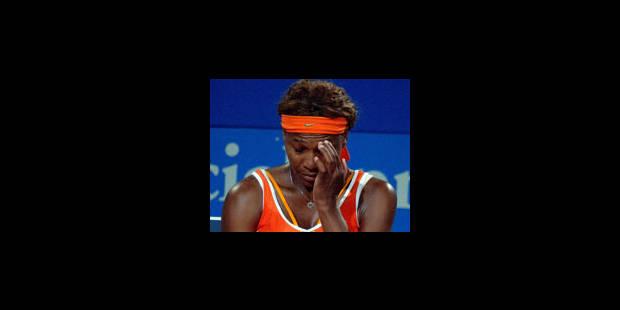 Serena Williams forfait - La Libre