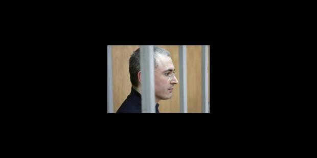 Mikhaïl Khodorkovski condamné à 9 ans de prison - La Libre