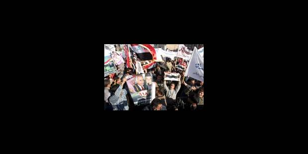 Mobilisation contre les résultats des élections - La Libre
