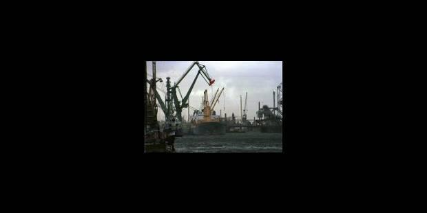 Grève dans les ports belges - La Libre