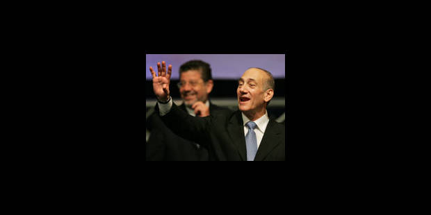 Olmert prépare sa coalition - La Libre