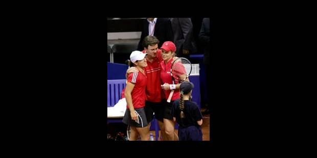 Justine Henin s'est réconciliée avec la Fed Cup - La Libre