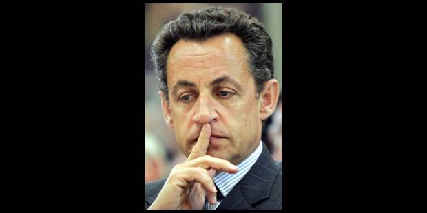 Sarkozy sur les terres de Le Pen - La Libre