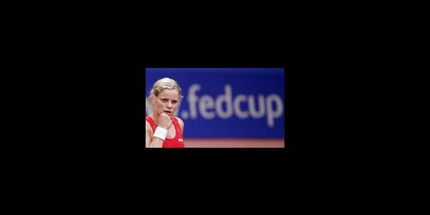 Clijsters qualifie la Belgique pour la finale - La Libre