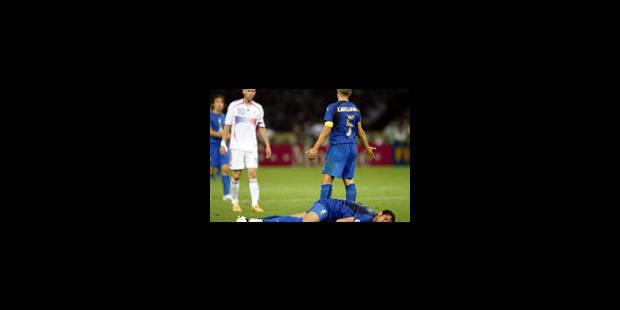 Materazzi et Zidane punis - La Libre