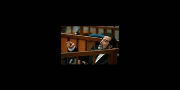 Saddam Hussein et ses lieutenants refusent de plaider - La Libre