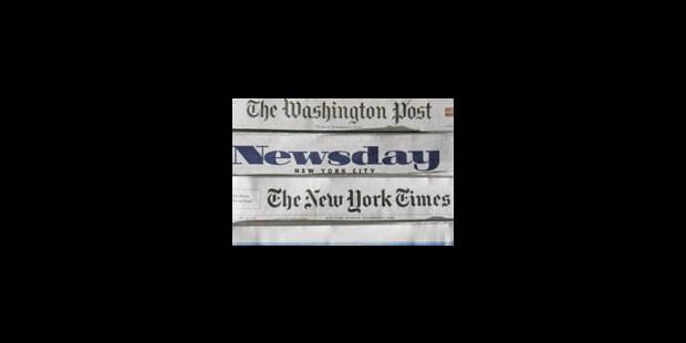 Google vise les journaux - La Libre