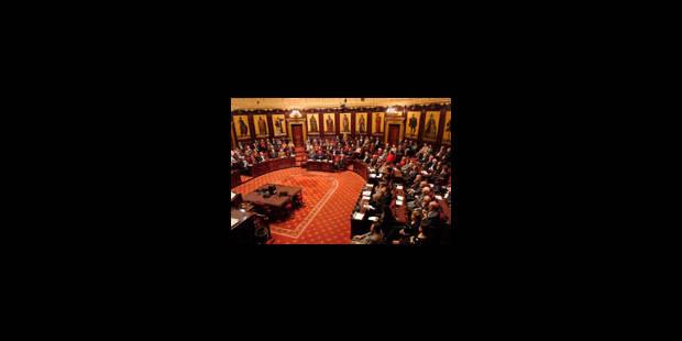 Le Sénat peut réveillonner - La Libre