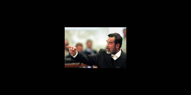 """Saddam promet d'aller à la potence """"en martyr"""" - La Libre"""