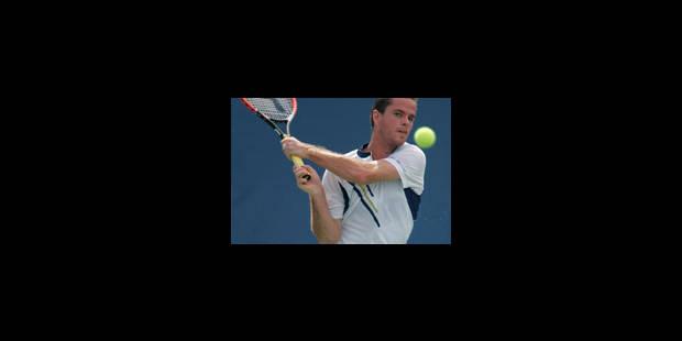 Troisième titre ATP pour Xavier Malisse - La Libre