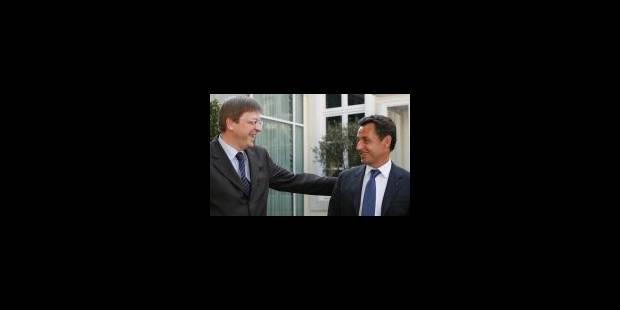 Sarkozy défend son projet de traité simplifié - La Libre