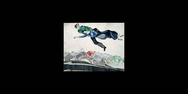"""Chagall """"Entre ciel et terre"""" à Martigny - La Libre"""