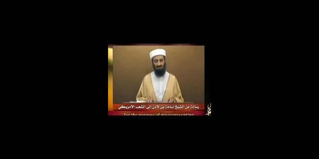 Une nouvelle vidéo de ben Laden diffusée sur Internet - La Libre