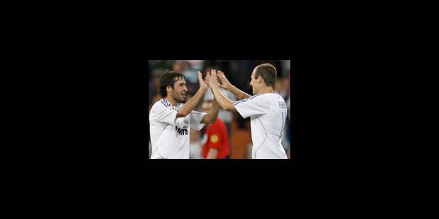 Raul pour la 300e du Real Madrid - La Libre