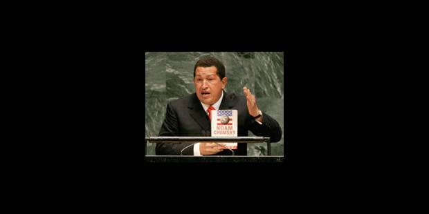 Chavez boude l'ONU avant la visite du président iranien au Venezuela - La Libre