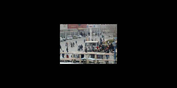 Violences dans la ville de Lhassa - La Libre