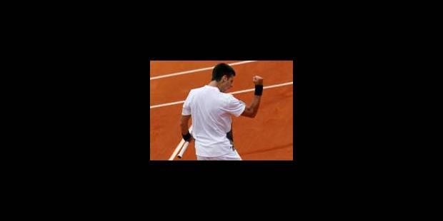 Novak Djokovic qualifié pour le 2e tour - La Libre