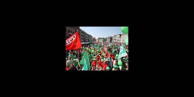 Grosse manifestation à Mons et perturbations - La Libre
