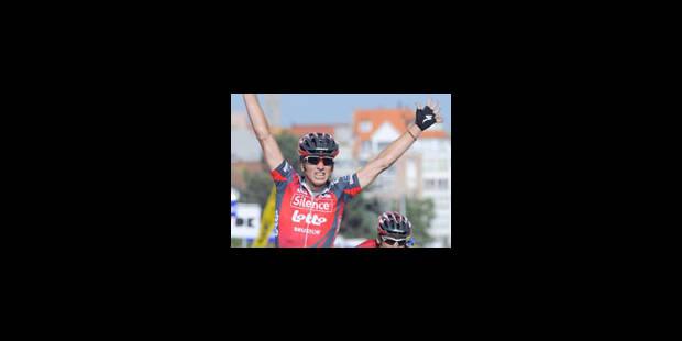 Jurgen Roelandts gagne un sprint mouvementé - La Libre