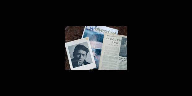 Une collection Jacques Brel en vente aux enchères - La Libre