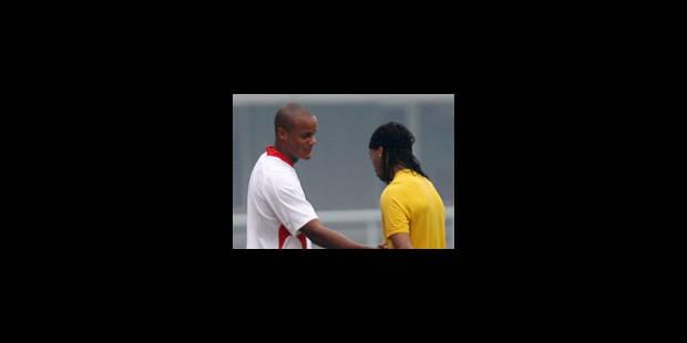 Kompany impressionné par Ronaldinho - La Libre