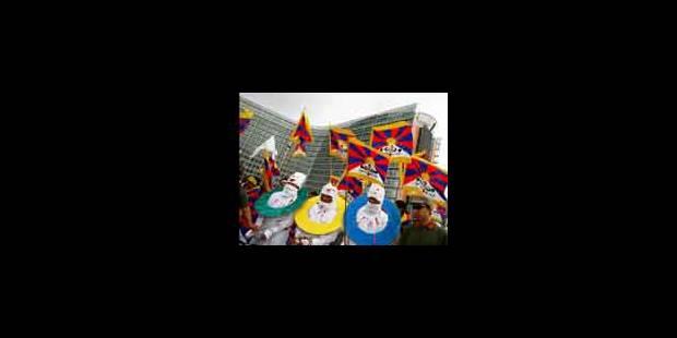 Manifestation de soutien aux Tibétains - La Libre