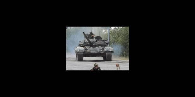 Les forces russes toujours en Géorgie - La Libre