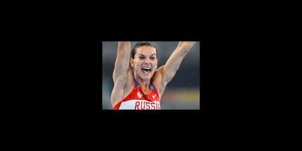 JO - Le record après l'or pour la Russe Isinbayeva - La Libre