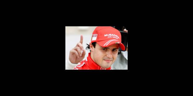 Victoire de Felipe Massa sur Ferrari - La Libre
