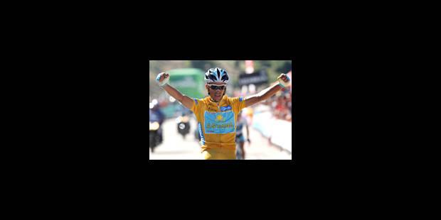 Alberto Contador, roi des Asturies - La Libre