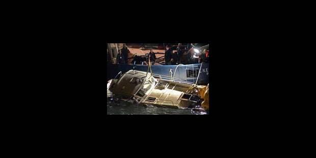 Deux décès dans un naufrage sur la Seine - La Libre