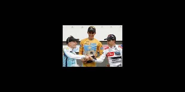 Alberto Contador vainqueur des trois grands tours - La Libre