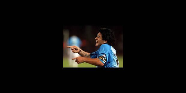 Maradona nommé sélectionneur de l'Argentine - La Libre