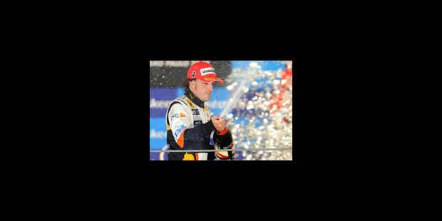 Fernando Alonso reste chez Renault en 2009 - La Libre