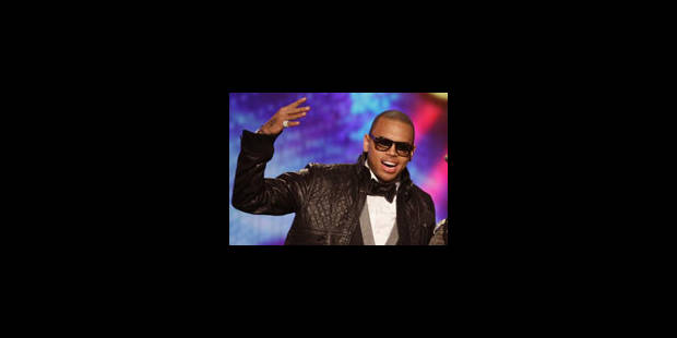 "Chris Brown rafle trois trophées aux ""American Music Awards"" - La Libre"