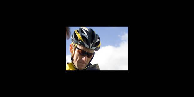 Lance Armstrong sera au Tour 2009 - La Libre