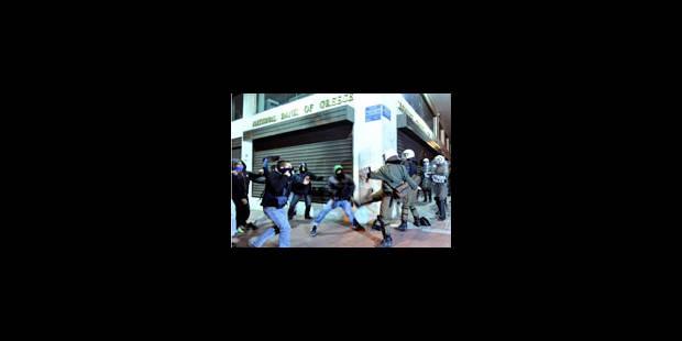 Nouveaux incidents à Athènes après une nuit calme - La Libre