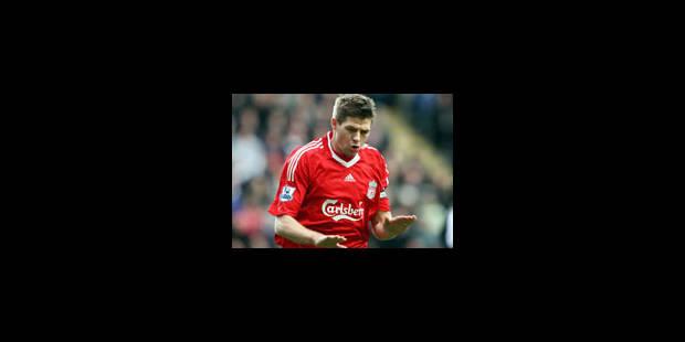 Le capitaine de Liverpool Steven Gerrard arrêté - La Libre