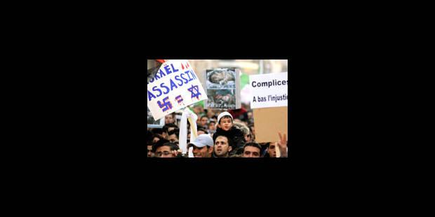 Gaza: 146 interpellations suite aux incidents à Bruxelles - La Libre
