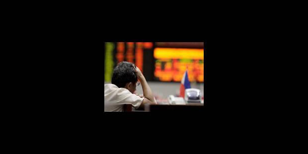 La Bourse prend la mesure de la crise - La Libre