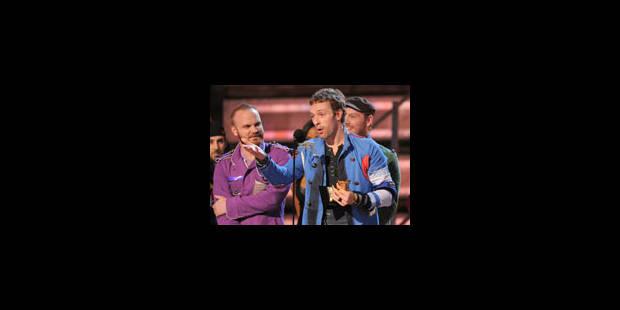 Daft Punk et Coldplay récompensés aux Grammy Awards - La Libre