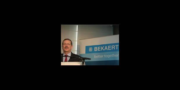 Records battus pour Bekaert en 2008 - La Libre